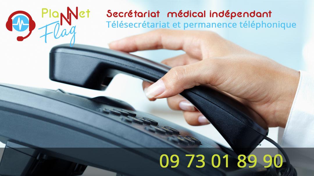 Plannet Flag Secrétariat médical indépendant